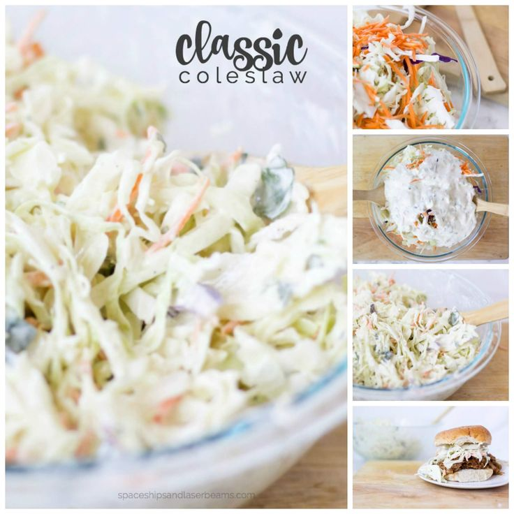 When you have the best coleslaw recipe as your side dish, everything just tastes better What's a staple at BBQs, potlucks, birthday parties, and all sorts of celebrations? A creamy classic coleslaw recipe with mayo and vinegar dressing is one of the foods that often gets invited out! See Also Dig into thisElbow Macaroni Saladfor a great summer side idea. Change up the dinner routine with thisBrussels Sprout and Orzo Salad. But don't reserve coleslaw just for entertaining…