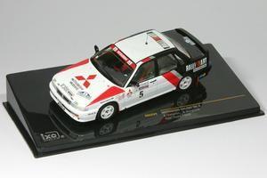 Mitsubishi Galant VR-4 RAC Rally 1988 Vatanen, Belglund 1:43 Ixo