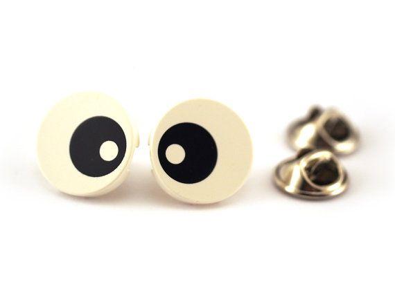 Eyeball eye Tie Pin Tie Tack Pin Men's Tie Tacks Tie by Pinhero