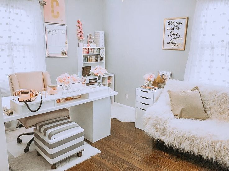 Home Feminine Home Offices Home Office Setup Home Office Space