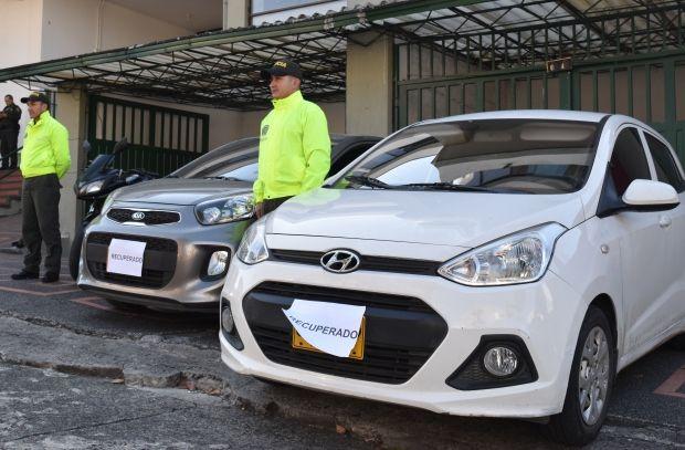 Estación de Policía Santa Rosa de Cabal, logramos en las últimas horas la recuperación de dos automóviles y cuatro motocicletas avaluadas en más de 78 Millones de pesos