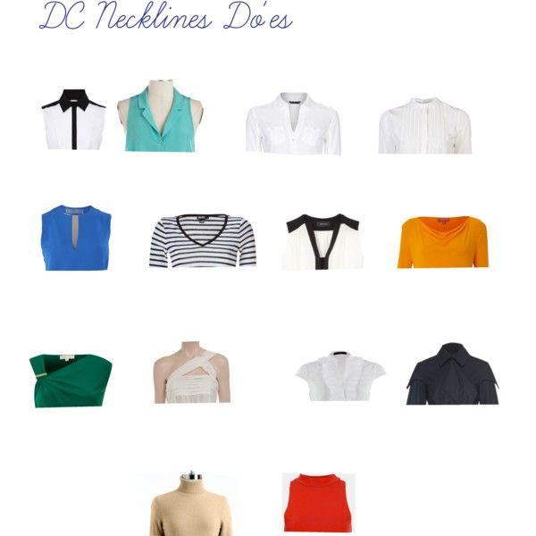 """DC Necklines Do'es"" by wichy on Polyvore"