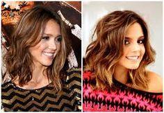 cabelo medio com franja - Pesquisa Google