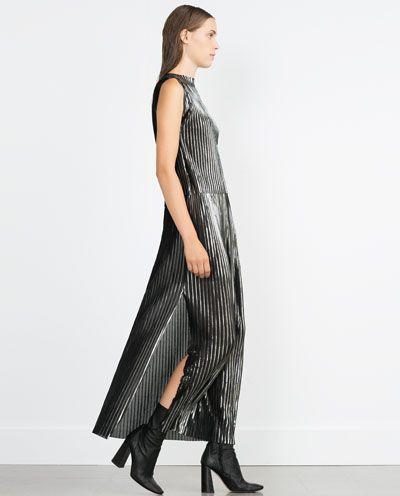 Image 1 of ACCORDION PLEAT SKIRT from Zara