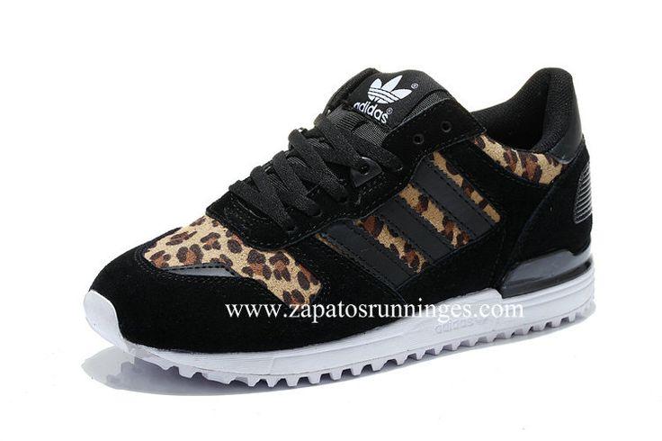 online store f198f 4eee6 Zapatos Adidas ZX700 Mujer Estampado de leopardo Baratos Ampliar imagen. Zapatos  Adidas …