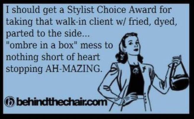 "New ""Stylist Choice Awards category"" :)"