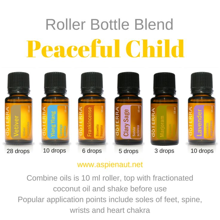 peaceful child recipe diy essential oils doterra roller bottle blend clary sage vetiver lavender frankincense marjoram ylang ylang