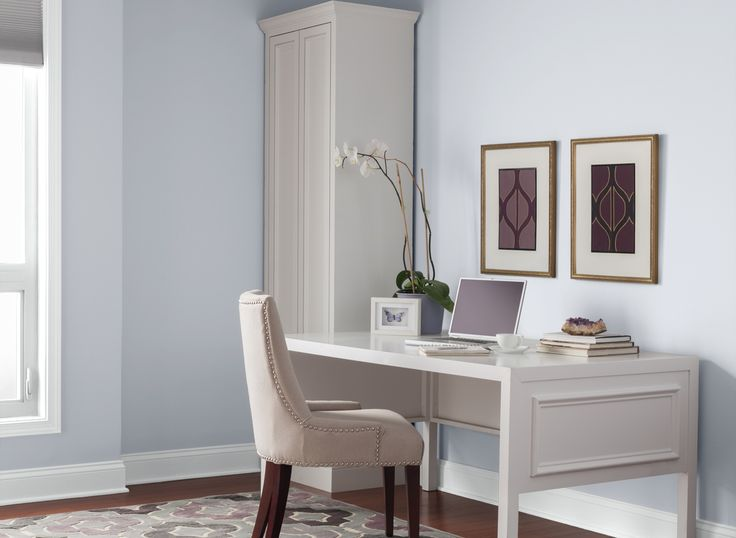 Living Room With Gray And Seamist