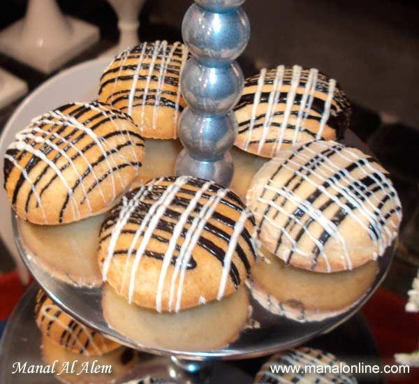 ميني كيك بالشوكولاتة #cake #recipes #manalalalem