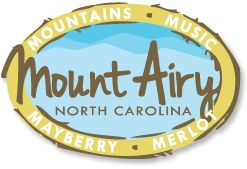 MOUNTAINS. MUSIC. MAYBERRY. MERLOT. Mayberry RFD icon Andy Griffith grew up in Mount Airy, North Carolina, and it's no coincidence that a stroll down Mount Airy's Main Street reminds people of the town of Mayberry from The Andy Griffith Show.