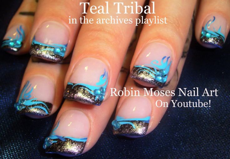 Nail Art Tutorial | The day nameless lost her mind | Name that octopus!