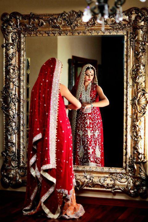 Nadia Elahi Bridal Collection #wedding #lengha: Vestment, Mirror, Bridal Collection, Photo Ideas, Bridal Pix, Bridal Dresses, Dresses Collection, Beautiful Dresses, Indian Bride