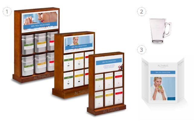Herbata do Spa i Wellenes - Althaus Spa Hollistic Tea Concept  Harmonize Your Body
