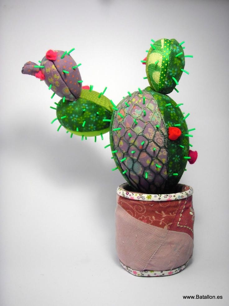 Un cactus de patchwork