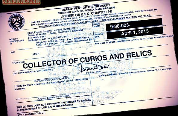 C&R FFL License