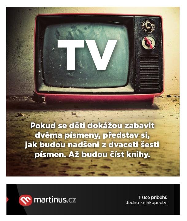 Televize vs. knihy