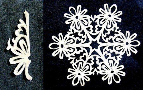Creative Ideas - DIY Beautiful Paper Snowflakes from Templates | iCreativeIdeas.com%0AFollow Us on Facebook --> https://www.facebook.com/iCreativeIdeas