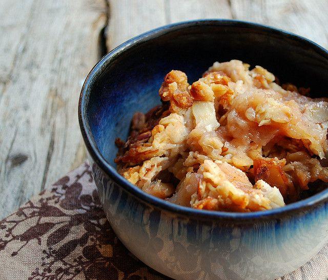 Apple Granola Crisp | Cook This - Breakfast | Pinterest