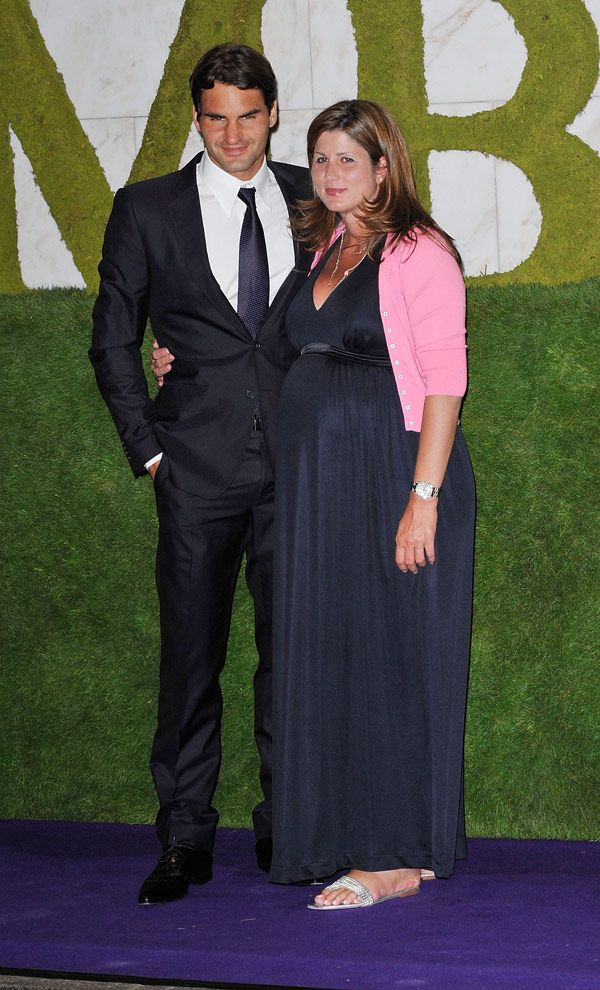 Roger Federer & his wife Mirka are expecting their third child