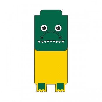 Gator Mascot Bookmarks from http://www.schoolspiritstore.com/