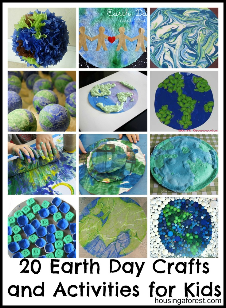 Earth day project ideas kids