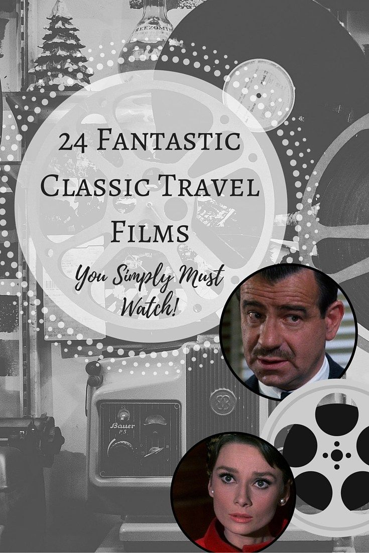 Classic Wanderlust Movies for Travelers by Hepcat Hannah  #travel #wanderlust…