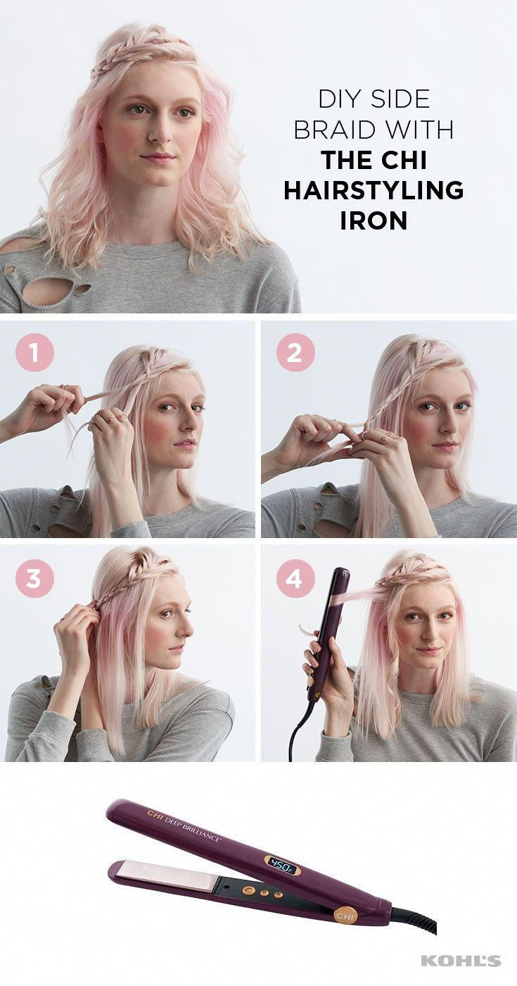 this ethereal hairstyle is perfect for keeping your hair off