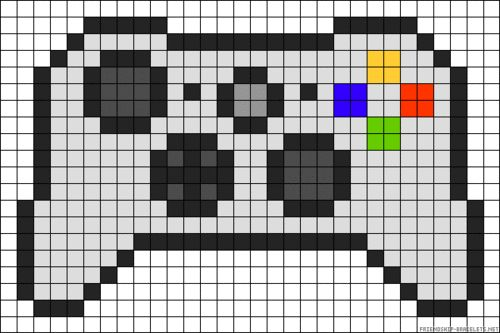 Help Needed Granny Square Xbox Controller Rug Perler