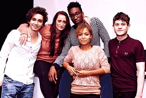 Cast of Misfits! Well... the old cast. I miss when it was just them!