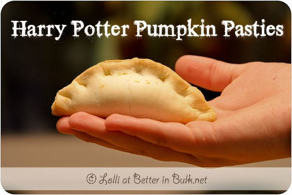 Harry Potter Pumpkin Pasties - used a pie dough that utilized the spent grain from beer brewing. Turned a little mushy after storage but adorable pastries, fitting for a party.