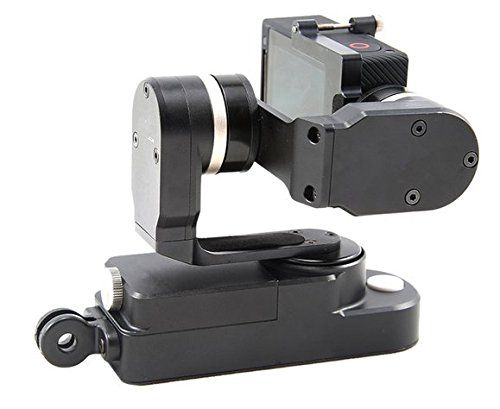 Gowe 3ejes portátil Gimbal Estabilizador para GoPro Hero 33+ 4SJCAM SJ4000y Parecida Forma Cámaras de Acción  Un ligero, sin embargo, con múltiples funciones, dormir envolvente y totalmente de captura de 3ejes cardán estabilizado footages. es compatible con para GoPro Hero4/3+/3(con espacio opcional de montaje para GoPro LCD BacPac), compatible con para SJCAM SJ4000y otras cámaras con dimensiones... http://accesoriosdegopro.com/producto/gowe-3-ejes-por