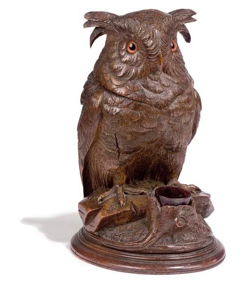 Black Forest owl tobacco box  sc 1 st  Pinterest & 65 best Brienz Bird Carvings images on Pinterest | Black forest ... azcodes.com