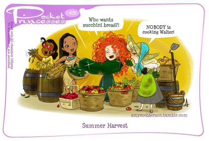 Pocket Princesses 115 - Tiana, Pocahontas, Merida and Aurora