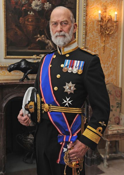 Prince Michael of Kent (who looks very much like the late King George V)