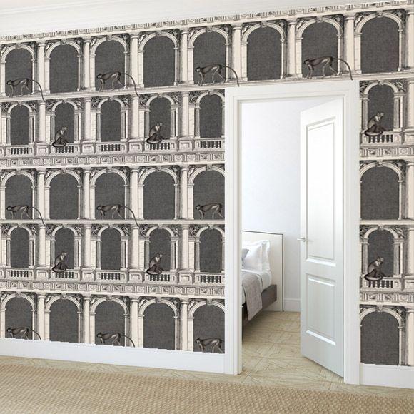 Procuratie e scimmie wallpaper by Cole and son
