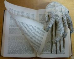 pictures of book sculptures