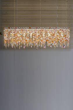 OTTOCENTO lustre rectangulaire multicolore. Masiero.