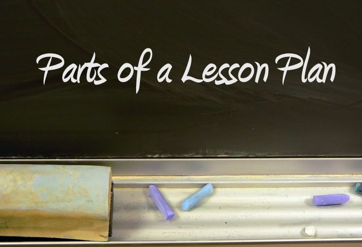 Parts of a Lesson Plan | How to Write Lesson Plans