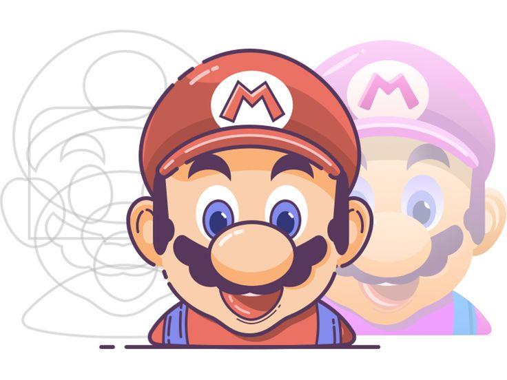 马里奥Mario by JUNYAN