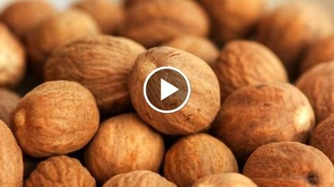 Nutmeg – Spices in the Kitchen  ||  Dr. Weil discusses the spice nutmeg and its natural health benefits. The egg-shaped nutmeg is the seed of the nutmeg tree, a tree native to Indonesia. Traditionally, nutmeg has been used orally for digestive issues such as flatulence, nausea and diarrhea. Topically, nutmeg has been use to treat mouth sores and toothache. Ground nutmeg is […] http://www.igalenvideo.com/?p=2320231