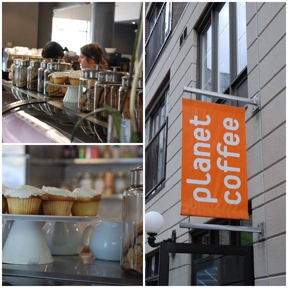 Planet coffee offers a great place to have an afternoon coffee with friends in a beautiful space.