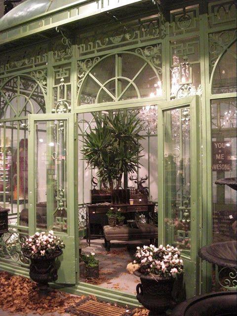 Conservatory inspiration.