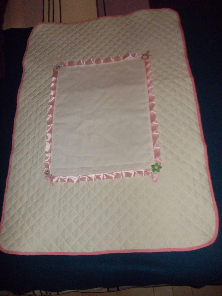 copertina lettino lovely, by pezze pazze ricamabili, 37,00 € su misshobby.com