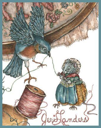 Book illustration by Jeri Landers