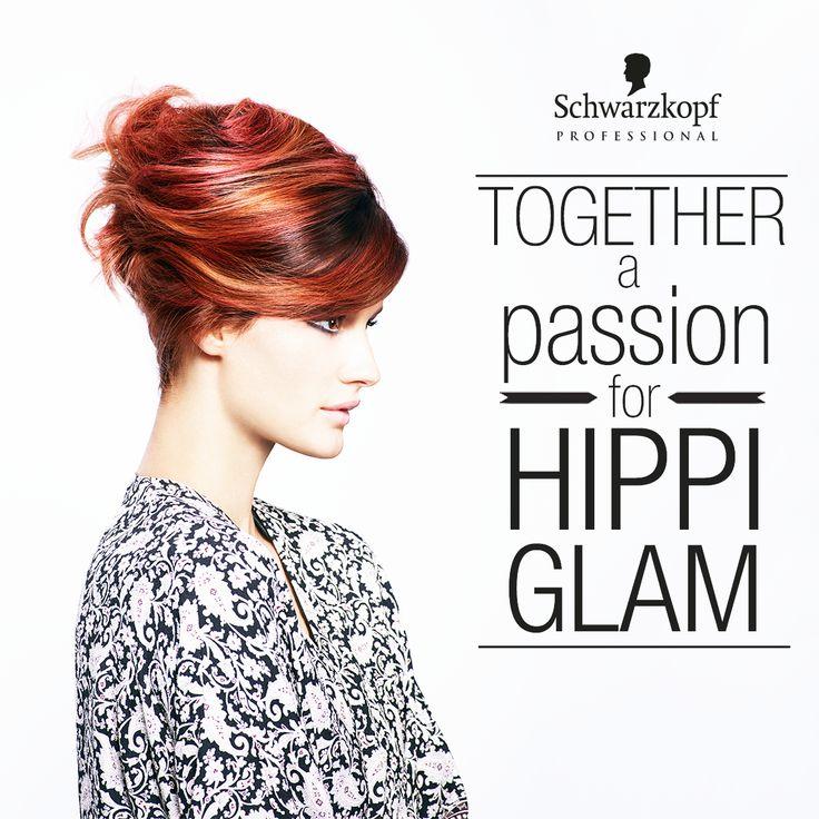 #EssentialLooks #HippiGlam #apassionforhair #schwarzkopfprofessional #red #hair #hippie #glamourous #festival #summer #beach