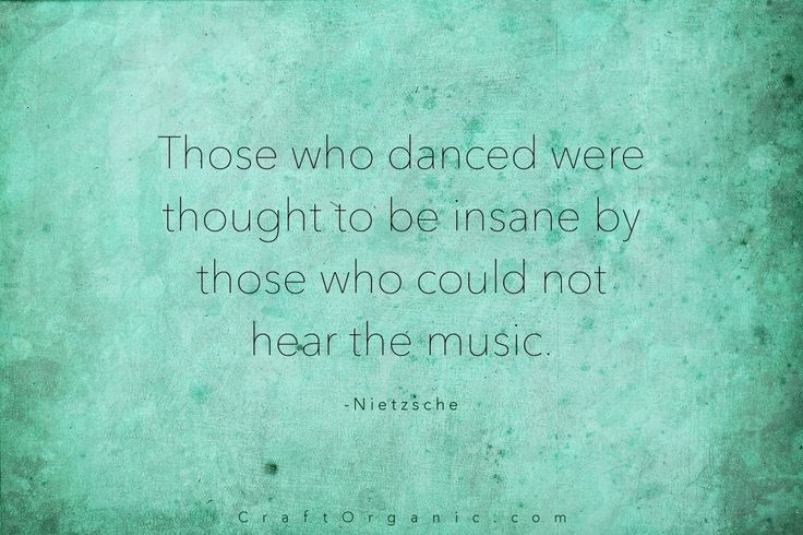 Pinterest Quotes About Creativity: Creative People Always Hear The Music. #creativity #quote