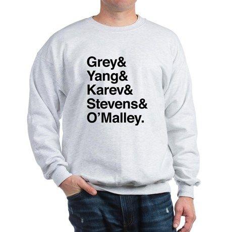 Grey, Yang, Karev, Stevens, Omalley Sweatshirt