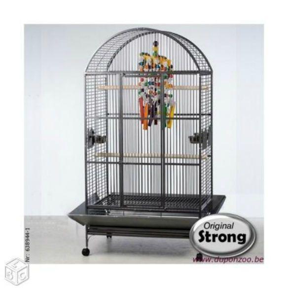 Superbe cage perroquet neuve + Aire de jeux