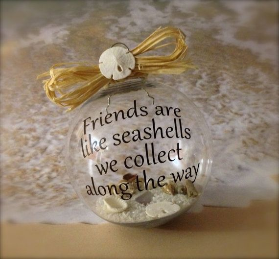 Nautical Ornament Beach Decor Beach Christmas Ornament