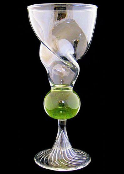 Absinthe Glass Helix Reservoir